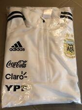 Adidas AFA Argentina 2018  WHITE Training Sweat Shirt  VERY RARE LARGE