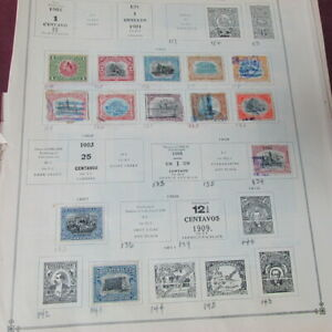 Collection of all different stamps from Guatemala 1900's to 1930's ~120 stamps