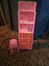 Barbie Bathroom Stand & stool
