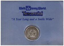Vintage Walt Disney World Tencennial 10th Anniversary Cast Member Coin Medallion