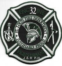 "Saint Louis  Engine-32, MO ""Vigiles Urbani"" (4"" x 4"" size) fire patch"
