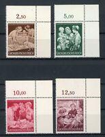 Deutsches Reich MiNr. 869-72 postfrisch MNH Eckrand oben rechts (V619