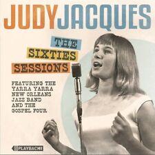 Judy Jacques - The Sixties Sessions CD Australian Trad Jazz Yarras Gospel 60s