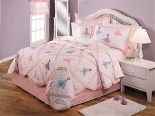 Ballet Recital Ballerina Girls Bedding Quilt Sham Pillow Sheets Set FULL 7PC