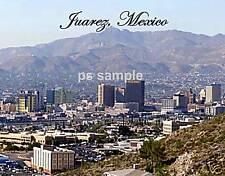 Mexico - JUAREZ - Travel Souvenir Fridge Magnet