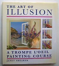 THE ART OF ILLUSION Janet Shearer ILLUS 2000 HC DJ Trompe L'Oeil Painting - F1