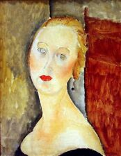 A3 Box Canvas portrait de Germaine Survage Modigliani