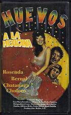 HUEVOS A LA MEXICANA (VHS) Mexican Cinema Clamshell Rare! Spanish Only