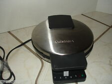 CUISINART Round Waffle Maker Stainless Steel model WMR-CA