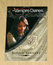 Cryptozoic Vampire Diaries wardrobe costume Bonnie Bennett Kat Graham M7 var #2