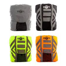 BTR High Visibilty Reflective Waterproof Backpack & Rucksack Cover. Orange