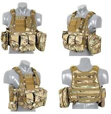 TATTICO SOFTAIR TACTICAL MOLLE VEST PLATE CARRIER MULTICAM TOP FLY GEAR TFG 7328