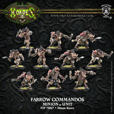 Hordes: Minions: Farrow Brigands / Farrow Commandos (Pip75067) New