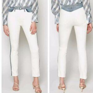 Joie White Skinny Ankle Denim Jeans Size 26 NWT Retail $178!!