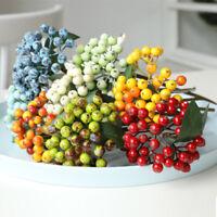 Home Dekoration Kleine Beeren Fake Kirsche Künstliche Blume Obst aus Schaum