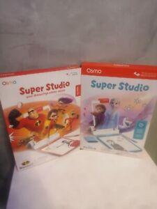 Osmo Super Studio Frozen 2+ incredibles 2 Drawing Game Interactive games ipad