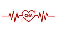 CNA Heartbeat Rhythm Nurse Sticker Vinyl Decal Window Sticker Car