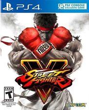 Street Fighter V 5  Sony PlayStation 4  PS4  NEW