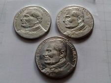 Johannes Paulus II  Pont Max  Gedenkmünzen  3 verschiedene Motive