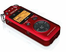 TASCAM DR05 portable digital recorder (RED)