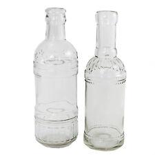 Dekoflaschen Vasen Kerzenständer H 20,5 cm 12-tlg. Flaschen Hochzeitsdeko Deko