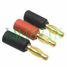 3pc/Set No Wire Adapter ESC 4MM Male to 6.5MM Female Bullet Plug Motor Brushless