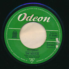 "THE BEATLES 45 TOURS 7"" GERMANY ACT NATURALLY"