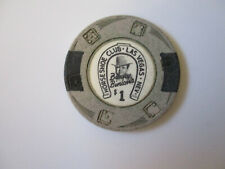 vintage Horse Shoe Club Casino Las Vegas Nevada $1 Dollar Poker Chip