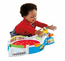 Fisher-Price Laugh and Learn Puppy`s Smart Stages Speedway Toy , New, Free Shipp