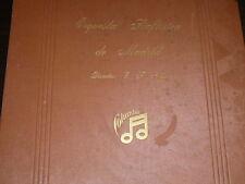 SYMPHONIC 8 x 78 rpm RECORDS Columbia ENRIQUE FERNANDEZ ARBOS + Album X-RARE