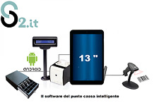 Sistema POS ANDROID Touch Screen per Negozi