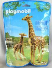 Playmobil GIRAFFE Mom & Calf Pair *NEW* Zoo Wild Animals Safari 6640