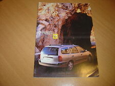CATALOGUE Renault Megane Break de  2001