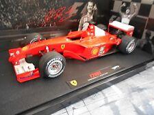 F1 FERRARI F2001 #1 Michael Schumacher Saison 2001 Hungary Hot Wheels Elite 1:18