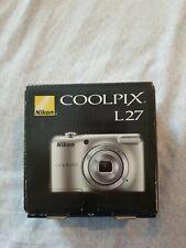 Nikon COOLPIX L27 16.1MP Digital Camera - Silver