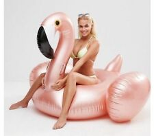 Sunnylife Rosie rose gold big Inflatable Flamingo Pool Float Limited edition NIB