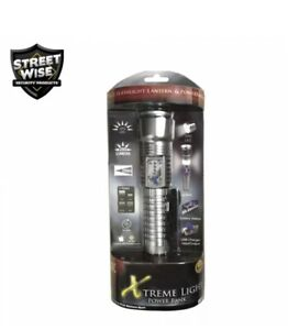 Streetwise Xtreme Flashlight & Power Bank USB Charger Input/output With Cable