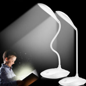 USB Foldable Rechargeable Touch Sensor Cordless LED Light Desk Table Reading New