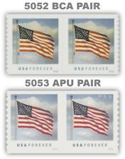 5052 SSP and 5053 APU Flag USA Clouds Forever Set of 2 Pairs 2016 MNH - Buy Now
