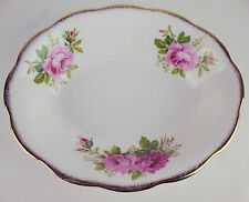 Oval Serving Bowl Royal Albert American Beauty England vintage bone china