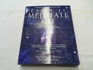 Patricia Carrington PHD - Learn to Meditate Tapes & Book