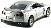 "Brand New 5"" Kinsmart 2009 Nissan GT-R R35 Diecast Model Toy Car 1:36 Silver"