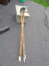 """Vintage Bamboo Walking Hiking Skiing Stick about 56"""" Tall"""