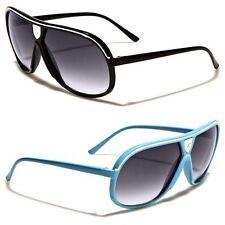 cafdd9e13f5 Khan Lightweight Vintage Shades Men Women Fashion Aviator Sunglasses New