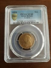 More details for 1894 full gold sovereign pcgs xf40
