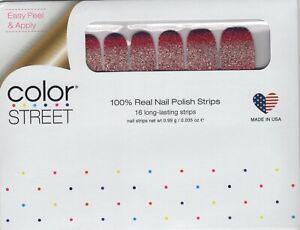 CS Nail Color Strips Nuclear Fuchsian 100% Nail Polish - USA Made!