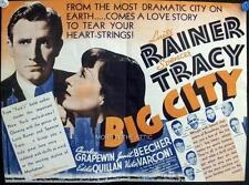 LUISE RAINER SPENCER TRACY BIG CITY ORIGINAL MGM VINTAGE US PRESSBOOK HERALD