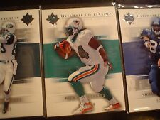 RICKY WILLIAMS, DOLPHINS S#538/750 2004 UD ULTIMATE COLLECTION FOOTBALL CARD#34
