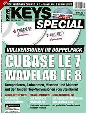 Cubase LE 7 Wavelab LE 8 Vollversion im Doppelpack auf Heft DVD in Keys