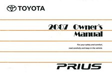 2007 Toyota Prius Owners Manual User Guide Reference Operator Book Fuses Fluids